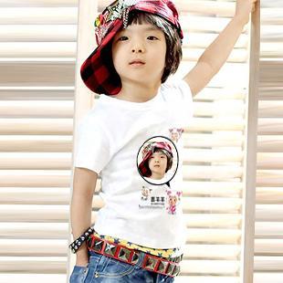 个性童装 DIY个性童装 拥有不一样的童装t恤