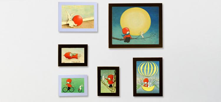 照片墙|个性照片墙|照片墙设计|照片墙让家里充满