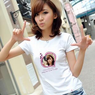 纯白女装t恤