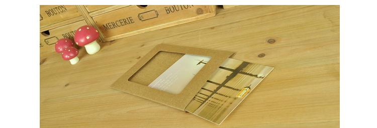 创意挂式纸相框7寸