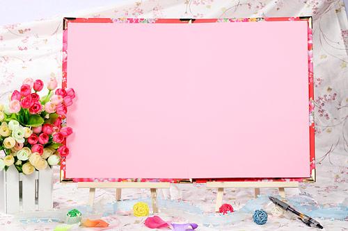 ppt 背景 背景图片 边框 模板 设计 素材 相框 500_333