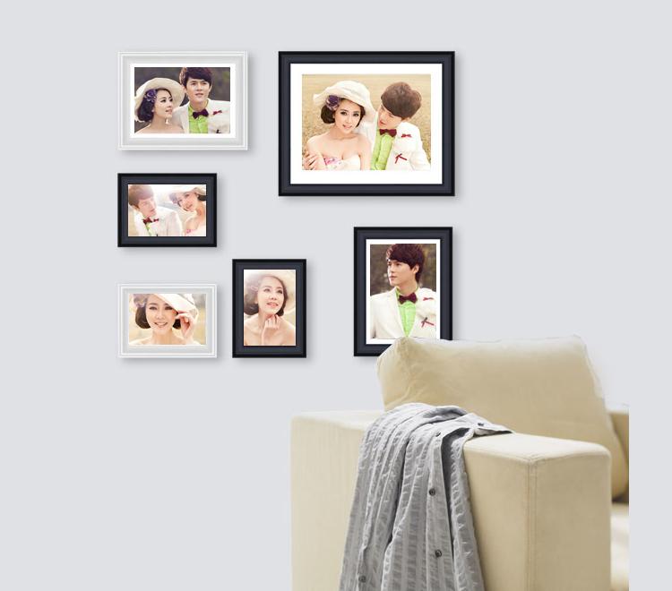 照片墙体验:我们结婚吧_有福网(yofus.com)洗照片冲印